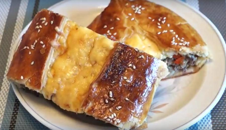 Невероятно вкусные лодочки с мясом и сыром
