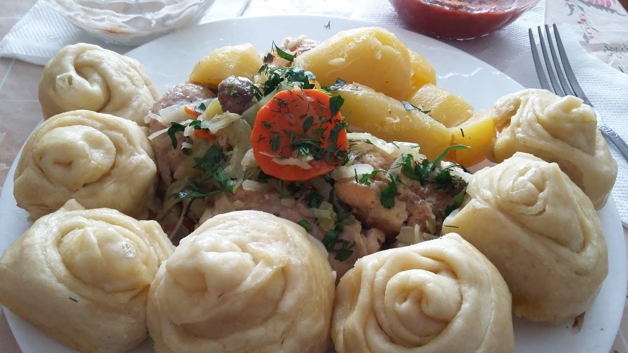 Немецкие штрудели-тесто на кефире