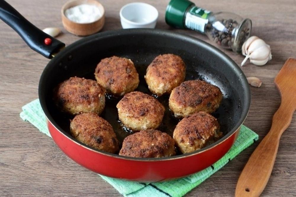 Грибные котлетки-отличное блюдо к ужину