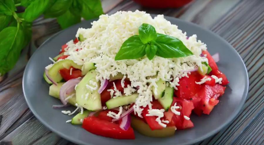 """""""Шопский"""" салат - мой любимый салат на Балканах"""