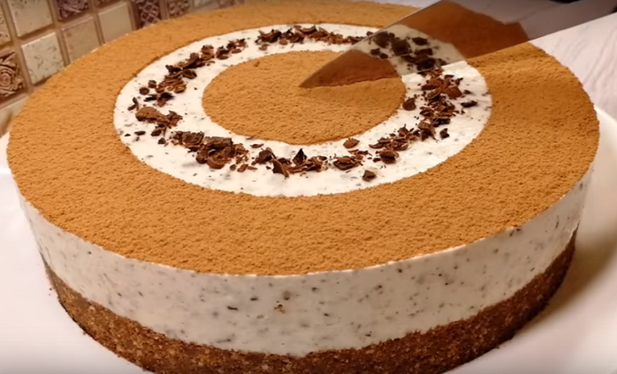 Потрясающий торт за 20 минут без выпечки