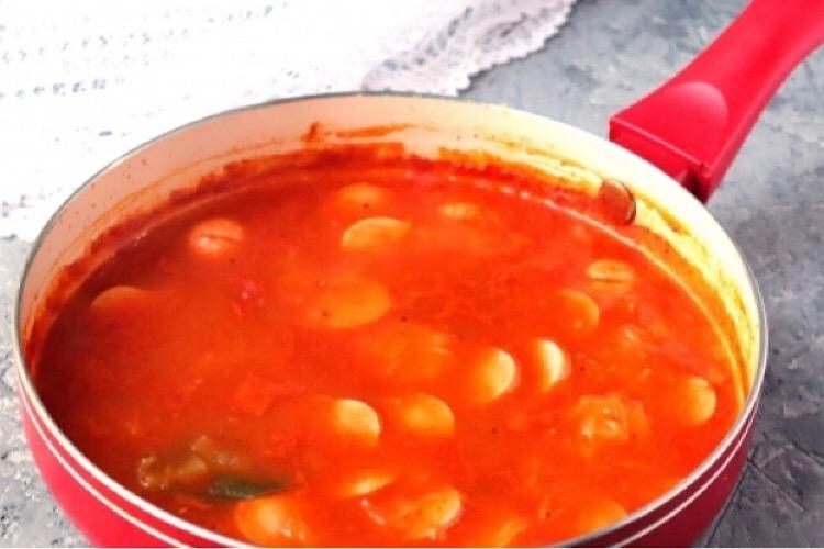 Обалденная подлива из сосисок к макаронам