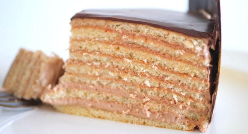 Восхитительный классический баварский торт