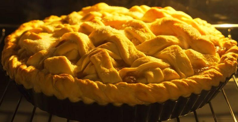 Мега вкусный яблочный пирог