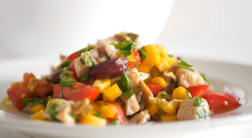 """Обалденный салатик на каждый день """"Пестрый"""""""