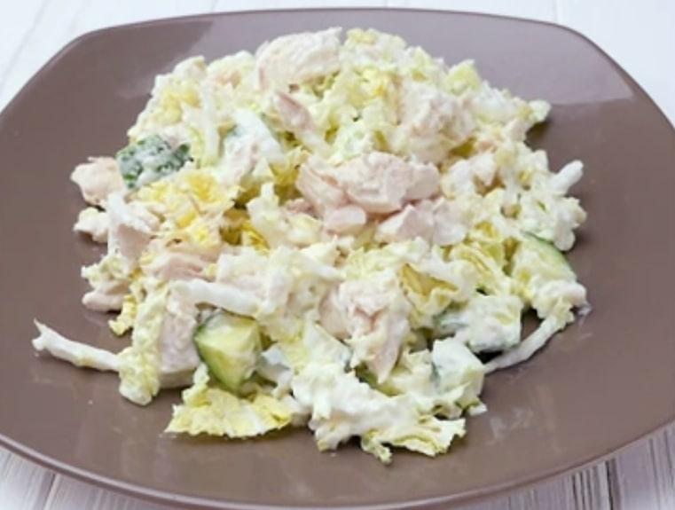 Пять простых и легких салатов с курицей