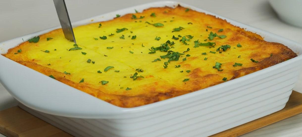 Мега аппетитная картофельная запеканка с фаршем