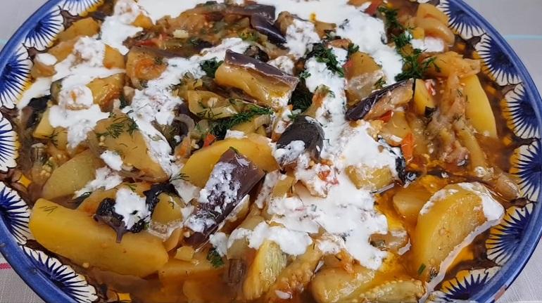 Баклажаны, жаренные с картошкой: простой рецепт вкусного ужина