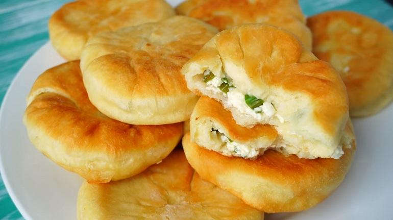 Пышные пирожки-пышки с творогом: безумно вкусная выпечка