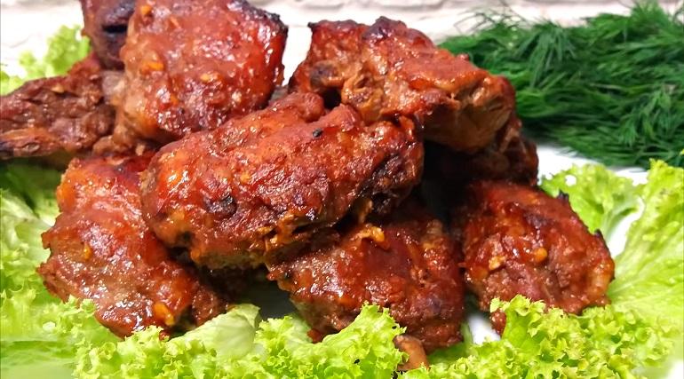 Ребрышки по-корейски, запеченные в духовке: шикарный ужин