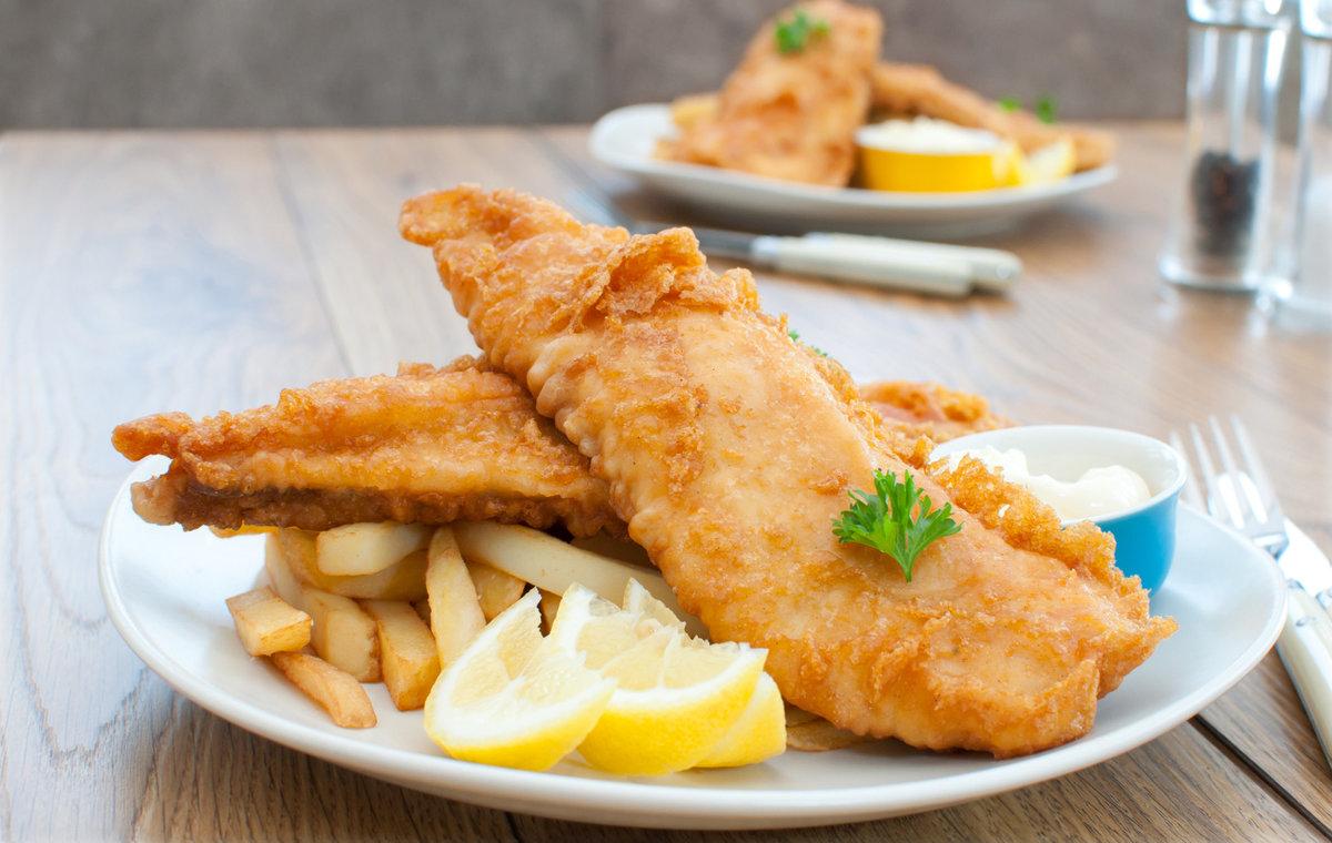 Обалденная рыбка в овощном кляре