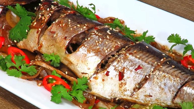 Скумбрия под маринадом, запеченная в духовке: супер рыбное блюдо на любой стол