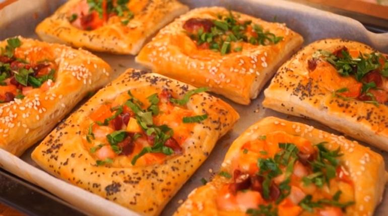Супер завтрак из слоеного теста: лучшая замена бутербродам