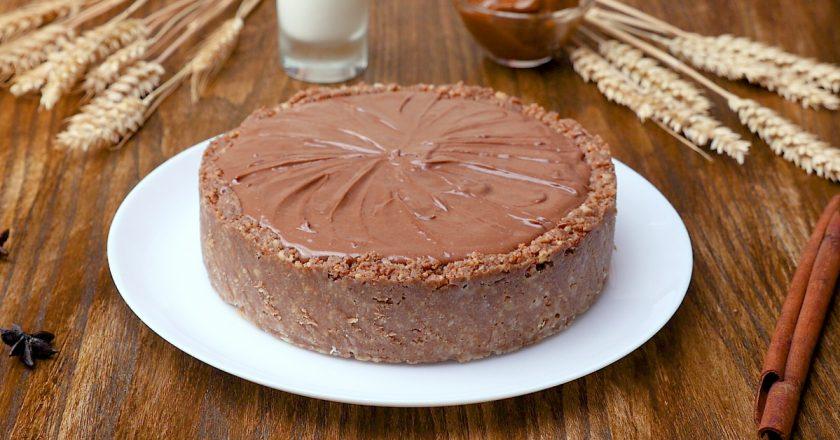 Божественный чизкейк с шоколадной пастой