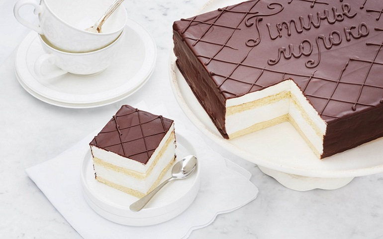 Торт-суфле «Птичье молоко»: классический рецепт потрясающего десерта