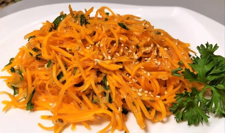 Рецепты азиатской кухни: тыква по-корейски – интересная закуска