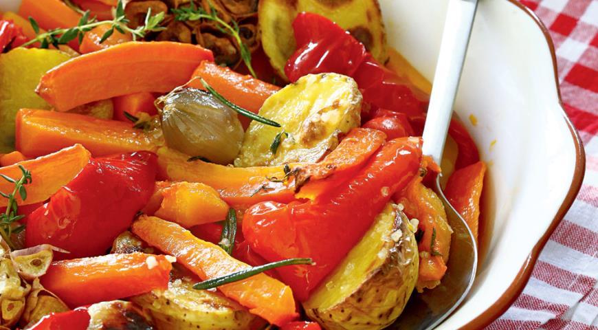 Изумительные запеченные овощи