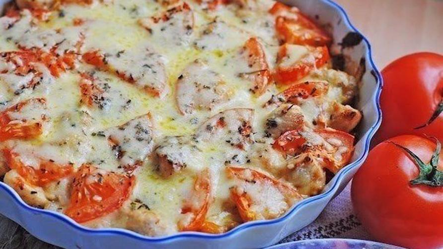 Фитнес-ужин: запеканка из курицы с овощами