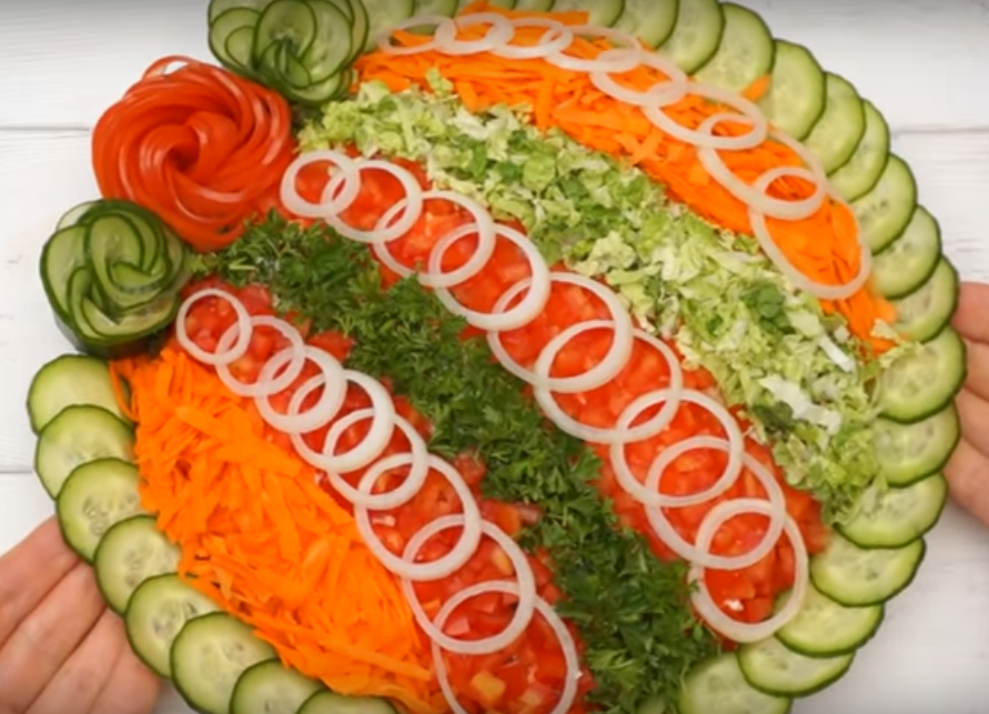 Новинка! Праздничный салат с курицей! Необычный и потрясающе вкусный