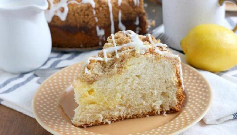 Вкуснейший сахарный пирог со сливками: рецепт номер один