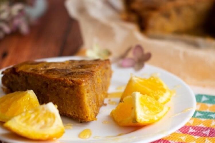 Аппетитный кукурузно-ореховый пирог
