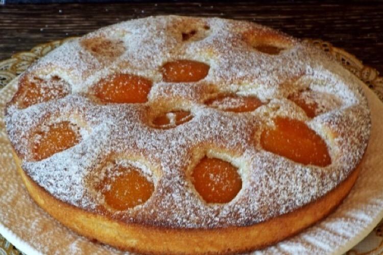 """Нежный пирог с абрикосами """"Восхитительный"""""""