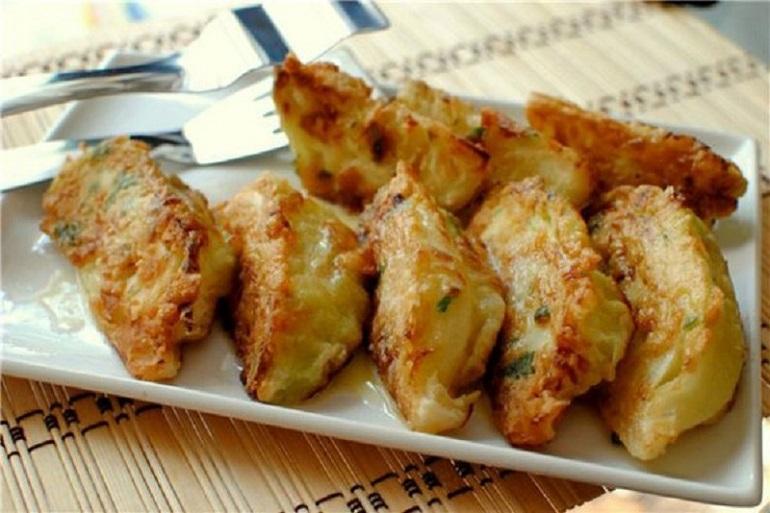Самая вкусная закуска из белокочанной капусты: шницели в кляре