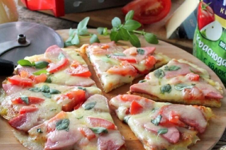 Бесподобная пицца на картофельной основе