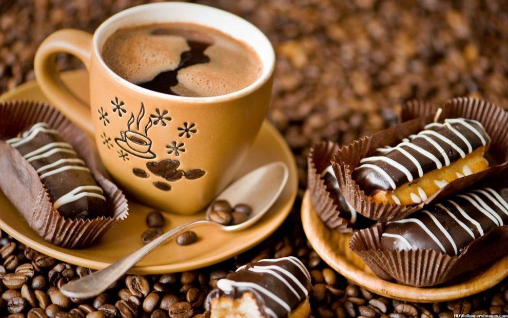 Шоколадный кофе-приятный согревающий осенний напиток