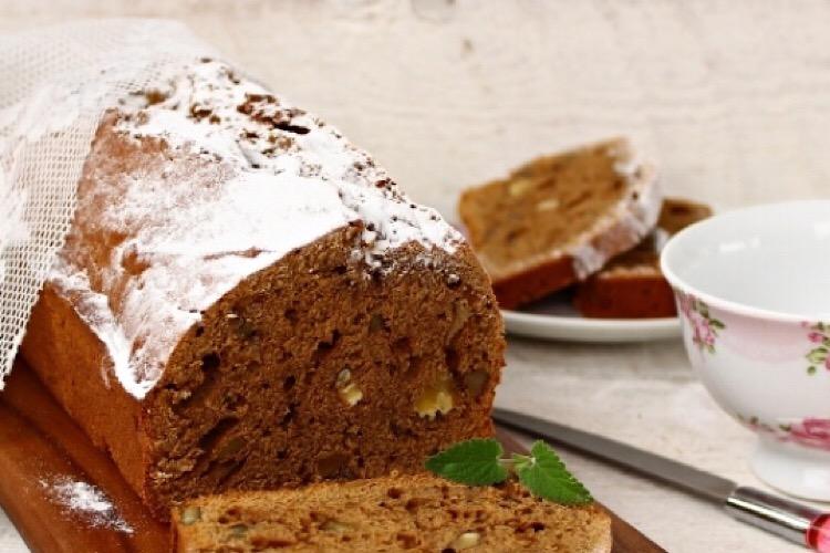 Отменный шоколадно-тыквенный кекс с грецкими орехами