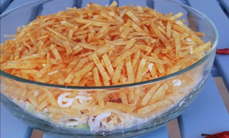 """Потрясающе вкусный салат """"Арабский"""""""