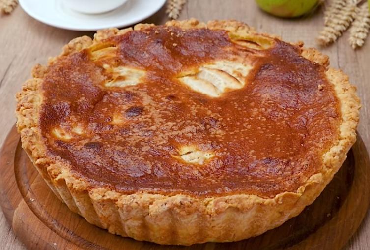 Мега вкусный яблочно-ореховый пирог