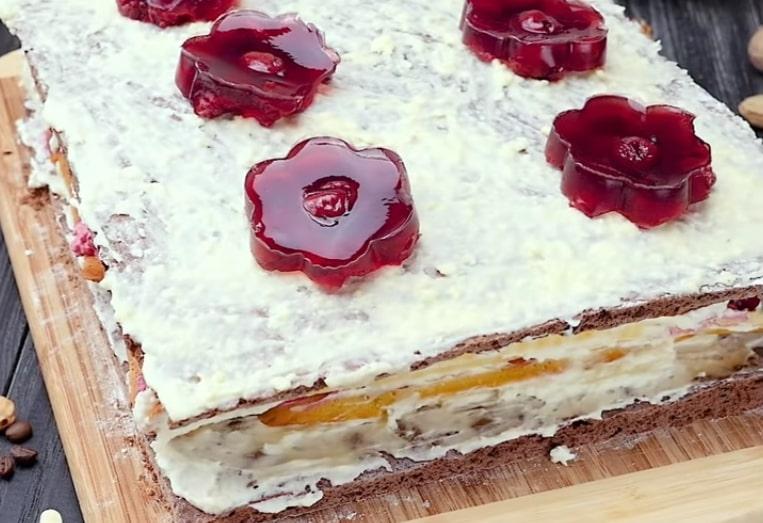 "Интересный торт ""Сакура"""