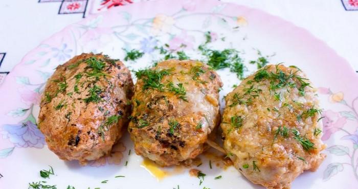 Идеальное блюдо к ужину-куриные котлетки с капустой