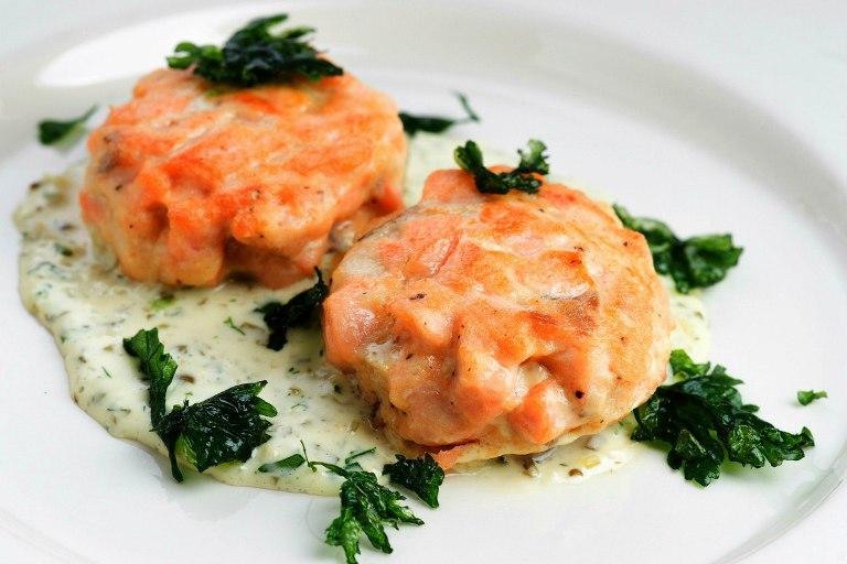 Потрясающие диетические котлеты из лосося