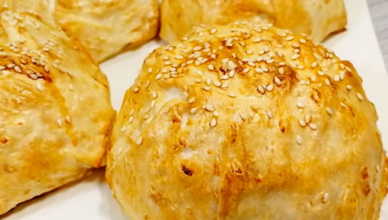 Мега вкусные пироги с начинкой из курицы: лаваш вместо теста