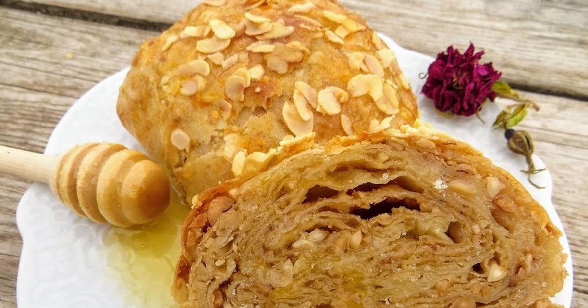 Тысяча и один слой-марроканские булочки с арахисом