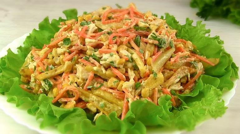Простейший праздничный салат «Новогодний хаос»: просто, быстро и красиво