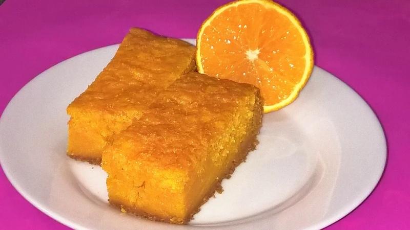 Тыквенный манник-вкусный осенний десерт