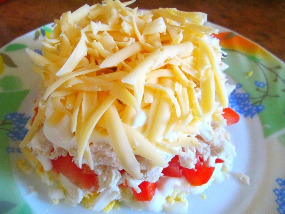 "Мега аппетитный салат ""Эдельвейс"""