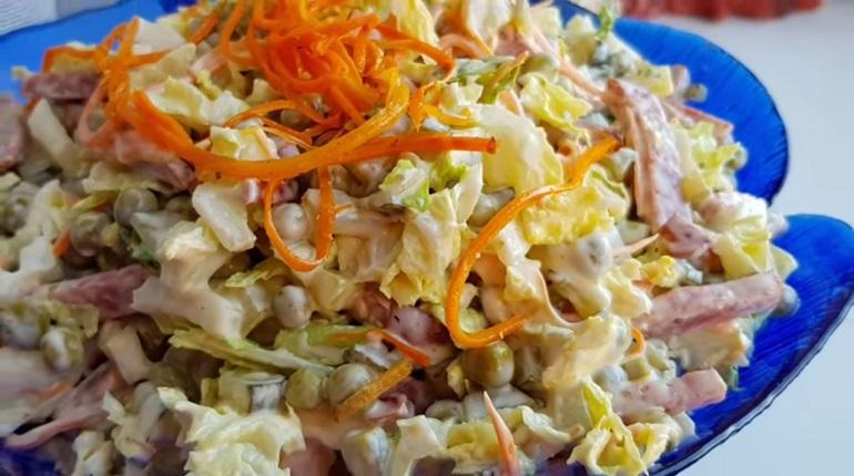 Салат «Быстрый»: готовится на скорую руку – ну очень вкусный