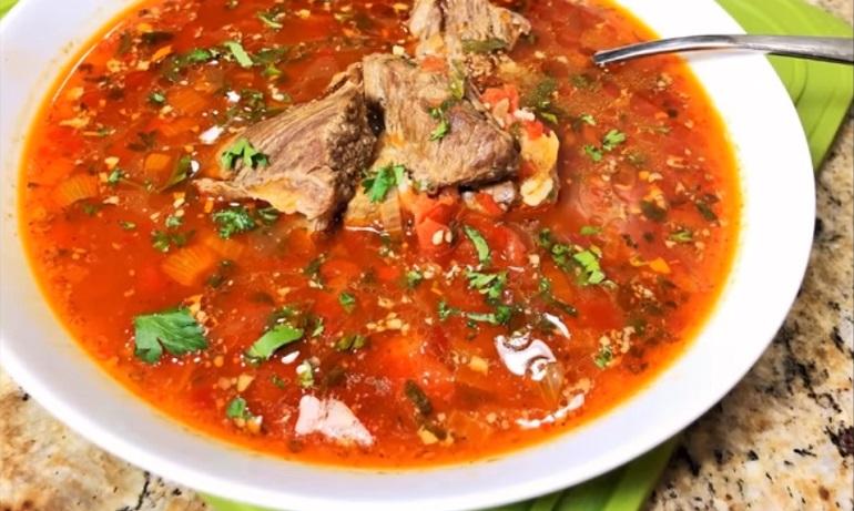 Самый вкусный грузинский суп «Харчо»: получится даже  у начинающих хозяек