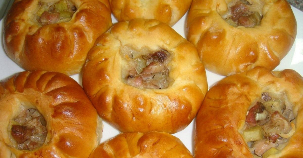 Наконец-то без дрожжей: вкусные пирожки с картошкой и мясом