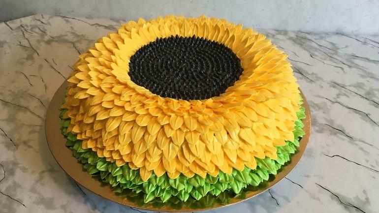 Самый вкусный торт «Подсолнух»: на детский праздник