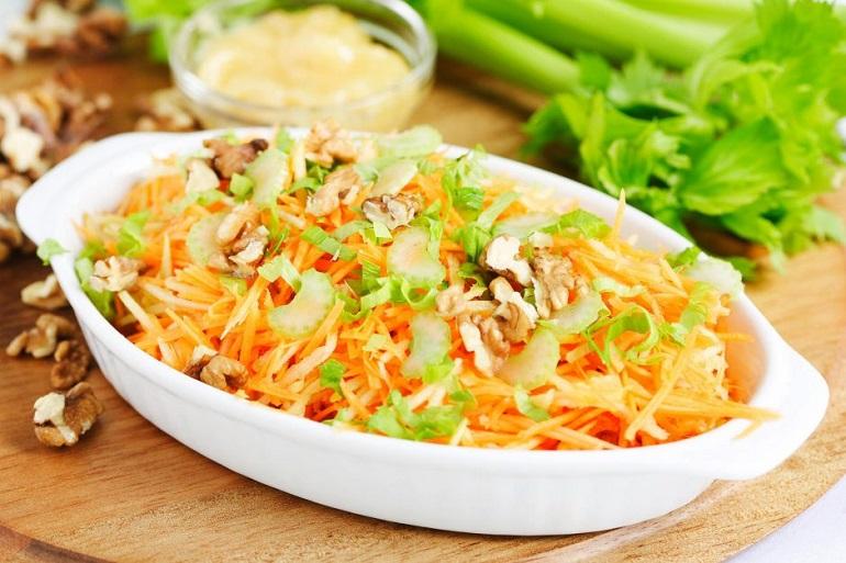 Самый лучший низкокалорийный  фитнес-салат для похудения