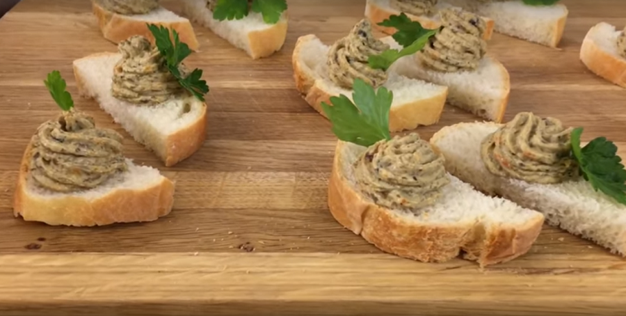 Грибной паштет-отличная закуска на праздник и не только