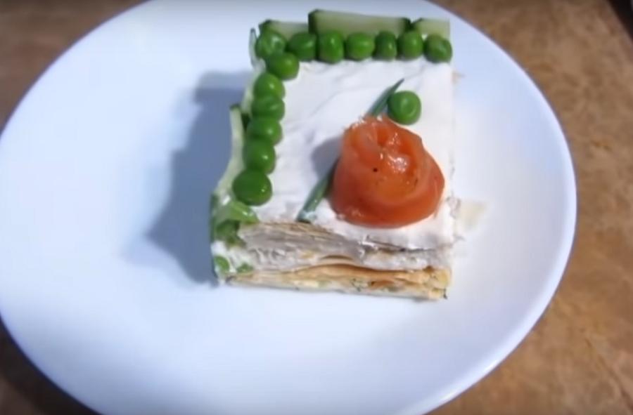 Восхитительный закусочный торт