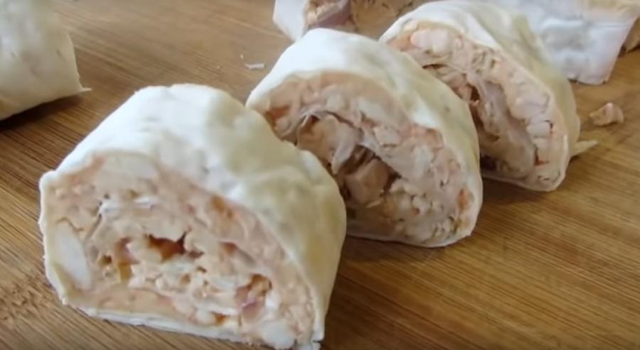 Вот это трюк-закуска в лаваше со вкусом шашлыка