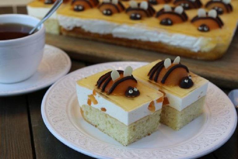 Очень вкусный пирог «Абрикосовые пчелки»: выпечка к чаю