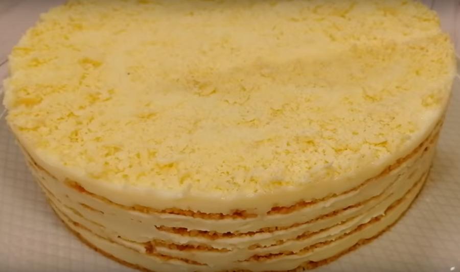 """Без духовки обалденный торт """"Пломбир"""""""